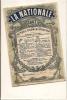 I-CALENDARIO TASCABILE LA NATIONALE ASSURANCES 1887 - Calendari