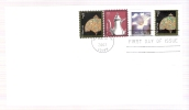 FDC Silver Coffepot - Plus Additiona Stamp - First Day Covers (FDCs)