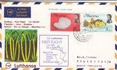 Poissons - Coquillages - Mauritius - Lettre De 1970 - 1er Vol - Coneshells