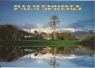 CPM Palm Springs (California) Municipal Golf Course / Mt San Jacinto (snow) - Montagne, Neige, Cocotier ... - Palm Springs