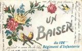 UN BAISER DU 106E REGIMENT D'INFANTERIE - Régiments