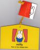 Ex-voto Japan 2011 Rabbit Year - Lunar Year - Miffy - Nouvel An