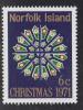 Norfolk Island MNH Scott #148 6c Rose Window, St. Barnabas Chapel - Christmas - Ile Norfolk