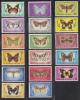 Norfolk Island MNH Scott #201-#217 Butterflies - Ile Norfolk
