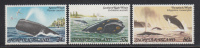 Norfolk Island MNH Scott #290-#292 Whales - Sperm, Southern Right, Humpback - Ile Norfolk