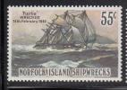 Norfolk Island MNH Scott #297 55c 'Fairlie' 1840 - Shipwrecks - Ile Norfolk
