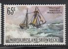 Norfolk Island MNH Scott #298 65c 'Warrigal' 1918 - Shipwrecks - Ile Norfolk
