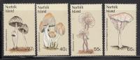 Norfolk Island MNH Scott #306-#309 Mushrooms - Ile Norfolk