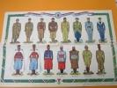 Planche Grand Format/Les Uniformes De L´Armée Française/Guerre De 1939/jour De L´An 1940 D71 - Uniforms