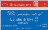 Phonecard Landis & Gyr 810 E (Mint,Neuve) Catalogue 280 Euro Très Rare ! - Belgien
