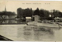 77 MELUN - Pointe De L'Île - ELD - Comme Neuve - Melun