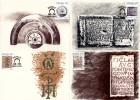Venda - 1986 History Of Writing Maxi Card Set # SG 139-142 , Mi 138-141 - Archeologia