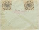 Censure De Vienne Et Marque De Controle De La Croix Rouge Sur Entier Postal Pour Berlin - Covers & Documents