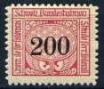 Schweiz Eisenbahndienstmarke Schweizer Bundesbahnen * - Treni