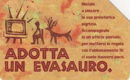 *ITALIA: RAI - ADOTTA UN EVASAURO* - Scheda Usata - Italia