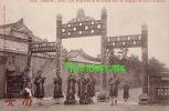 CPA HANOI VIETNAM VIET-NAM ANNAM HUE LES MUSICIENS DU ROI JOUANT SOUS LE PORTIQUE DU SOLEIL RADIEUX - Viêt-Nam