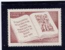 CHILE, 1969 # 380,  OPEN BOOK. MNH - Chili
