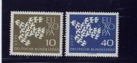 GERMANY DEMOCRATIC REPUBLIC. 1961, # 844-5,  EUROPA MNH - [6] République Démocratique