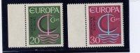 GERMANY DEMOCRATIC REPUBLIC. 1966, # 963-4,  EUROPA MNH - [6] République Démocratique
