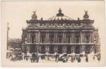 Carte Photo - Années 1910-20 - Paris Opéra - Palais Garnier - Voitures - Très Animée - État TB - France