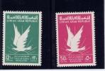SYRIA( UNITED ARAB REPUBLIC) 1963, #292-3,  REVOLUTION MARS 8 1963         M NH - Siria
