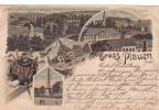 PLAUEN LITHO 1899 USED, GERMANY - Plauen