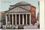 ITALIA ROMA PANTHEON CARTOLINA - Panthéon