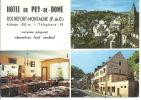 -- 63 -- ROCHEFORT - MONTAGNE -- HOTEL DU PUY DE DOME -- MULTIVUES  ** - France