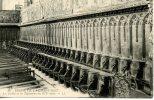 LA CHAISE DIEU - église - Les Stalles Et Les Tapisseries - Très Bon état - Scan Recto Verso - La Chaise Dieu