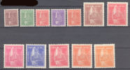Nepal  1957  Crown Of Nepal  2p To 2r  ***   MNH - Népal