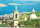 Malta, St. Paul's Bay From Wardija Heights, 1987 Used Postcard [10647] - Malta