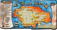TICKET FRANCAISE DES JEUX   EN FRANCS  L'ile Au Tresor    EMISSION No 1 - Lottery Tickets
