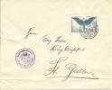 Militärkonkurrenz Zürich - St. Gallen 18.10.25 - Airmail