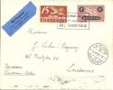 SF25.5 Comptoir Suisse Lausanne - Milano - Airmail