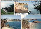 CP Le Pouldu  29 Finistère Multivues Multi Vues Les Plages La Rivière Et Les Falaises - Le Pouldu