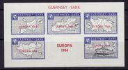 GUERNSEY SARK 1964  EUROPA CEPT  MS  MNH - 1964