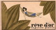 Carte parfum�e/R�ve d�OrCalendrier/L-T PIVER/Paris/1929            PARF17
