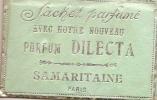 Sachet  parfum�/Dilecta/Samaritai ne/Paris/vers 1920           PARF18