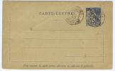 Diego Suarez Carte Lettre NGK Type Nr K1, Cancelled Madagascar, 1892, Cat Val € 70 - Diego-suarez (1890-1898)