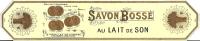 Papier Emballage Savon Parfumé/BOSSE/vers 1910    PARF22 - Parfum & Kosmetik