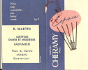 Calendrier parfum�/Parfums CHERAMY/Paris/ MARTIN/ Auneau/ Eure et Loir/1958        PARF31