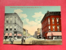 IN - Indiana > Muncie   Main Street  Ca 1910 -   - -----   ---  Ref 595 - Muncie