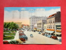 IN - Indiana > Marion- West Side Of Square  1950 Cancel -   - -----   ---  Ref 595 - United States