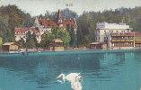 Bled - Swan & Hotels View 1910s Edition Lergetporer Lussinpiccolo - Slowenien