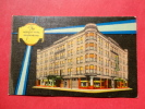 - Indiana >  Richmond  Night View The Westcott Hotel  1955 Cancel Linen ===  Ref 596 - United States