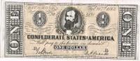 Billete Replica Of SPAIN,  1 Dolar 1864. Confederate States Of America - Confederate Currency (1861-1864)
