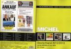 Germany Stamps Catalogue MICHEL With CD Easy 2013 New 44€ Bayern Baden Hamburg III. Reich Danzig Saar SBZ DDR Berlin BRD - Collections