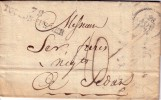 VAR-78 TOULON-SUR-MER DU 28 AOUT 1829 - LETTRE AVEC LONG TEXTE. - Poststempel (Briefe)
