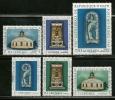 "Haiti     ""Metropolitan Cathedral Of Port-au-Prince""       Set       SC# 529-321,C246-48       MNH** - Haiti"