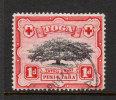 """Tonga  1942   """"1d  Ovava Tree """"    VFU  (0) - Tonga (...-1970)"""
